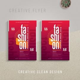 Minimalist Fashion Flyer