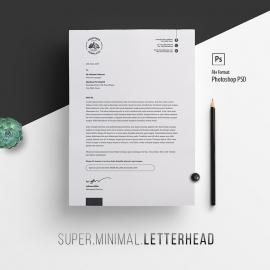 Minimalist Letterhead Design