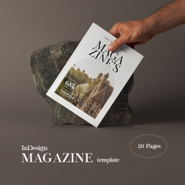 Minimalist Magazine / Booklet Template