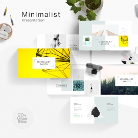 Minimalist Photo Powerpoint Presentation