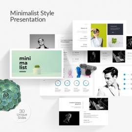 Minimalist Style Powerpoint presentation