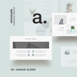 Minimals Powerpoint Presentation Template