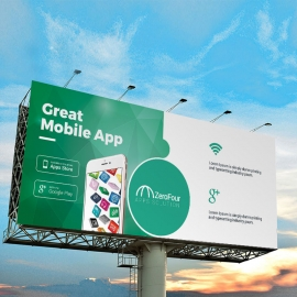 Mobile Apps Billboard Sinage