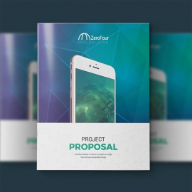 Mobile Apps Proposal With Digital Concept