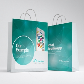 Mobile Apps Shopping Bag