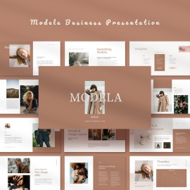 Modela Business Powerpoint Template
