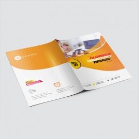 Modern Business Presentation Folder