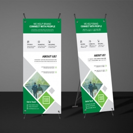 Modern Business Rollup Banners