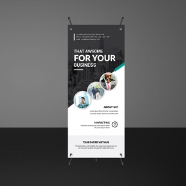 Modern Business Rollup Banners Template