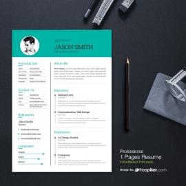 Modern & Clean Resume
