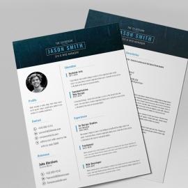 Modern & Clean Resume Design