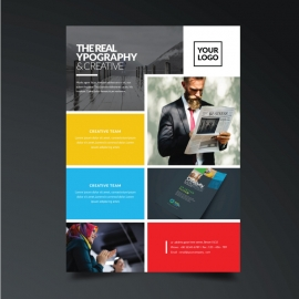 Modern Corporate Business Boxs Flyer
