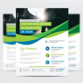 Modern Corporate Business Flyer