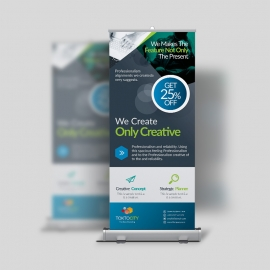 Modern Corporate Rollup Banner