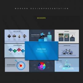 Modern Design Powerpoint PresentationTemplate