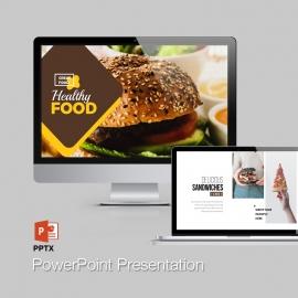 Modern Fast Food Restaurant  Powerpoint Presentation