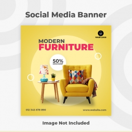 Modern Furniture Social Media Banner
