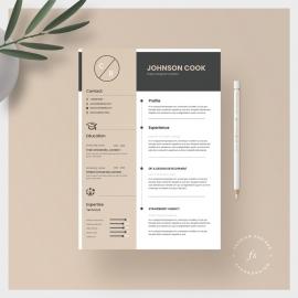 Modern Resume CV Template