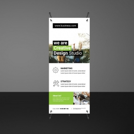 Modern Rollup Banners Template