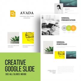Motagua - Multipurpose Google Slide Template