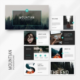 Mountain Minimal PowerPoint Presentation