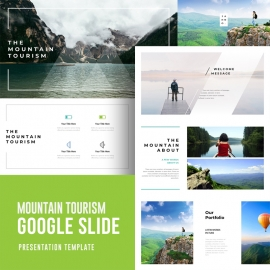 Mountain Tourism Google Slide Template