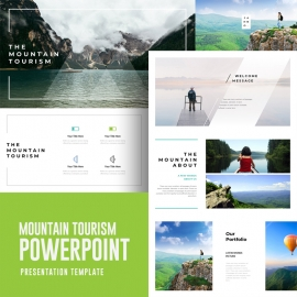 Mountain Tourism Powerpoint Template