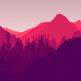 Mountain Vector Design
