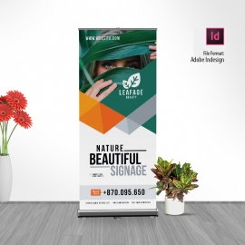 Multipurpose Advertisement Rollup Banner