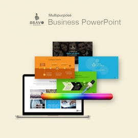 Multipurpose Business PowerPoint Presentation | Bravo