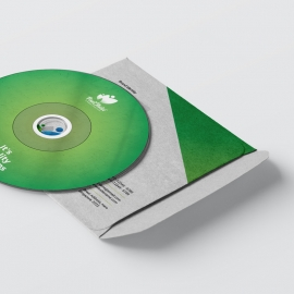 Multipurpose CD Pack With Green Accent