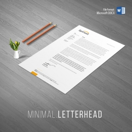 Multipurpose Clean Letterhead