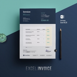 Multipurpose Corporate Excel Invoice