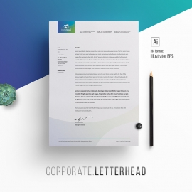 Multipurpose Corporate Letterhead