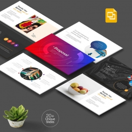 Multipurpose Creative Clean Google Slide Template