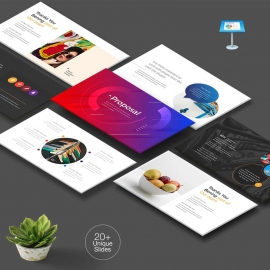 Multipurpose Creative Clean Keynote Template