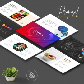Multipurpose Creative Clean PowerPoint Presentation Template