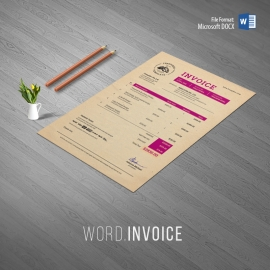 Multipurpose Creative Retro Style Invoice