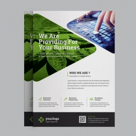 Multipurpose Green Business Flyer
