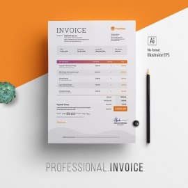 Multipurpose Professional Invoice