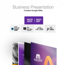 Mycoock Google Slide Template