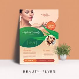 Natural Beauty Flyer