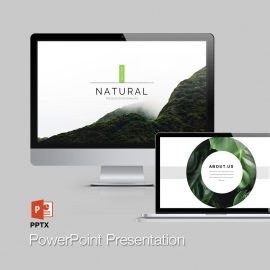 Natural PowerPoint Presentation Template