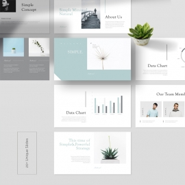 Natural PowerPoint Template