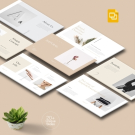 Natural Simple Google Slide Template