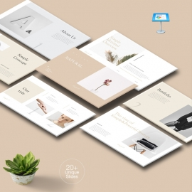 Natural Simple Keynote Template