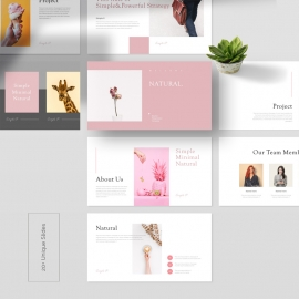 Natural Simple PowerPoint Template