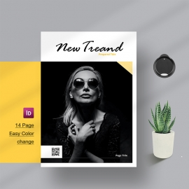 New Trend Magazine Template