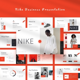 NIKE PowerPoint Template