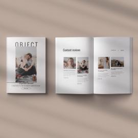 Object Magazine Template